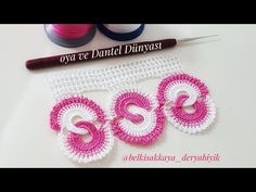 Engagement Ring Towel Edge Making – Bavece Crochet Stitches Patterns, Stitch Patterns, Crochet Flowers, Crochet Lace, Creative Embroidery, Ring Verlobung, Letters And Numbers, Diy And Crafts, Youtube