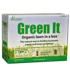 Organic Lawn in a Box #homedepot
