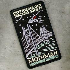 Cryptozoology Tracking Society: Mothman Patch