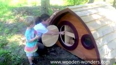 Virtual Tour of a Hobbit Hole Chicken Coop (or Dog House!)