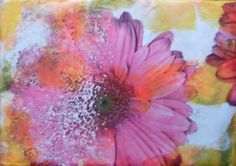 $49 Online Class/6 Months Access: Encaustic Transfers with Photographs and Drawings, at http://www.womackworkshops.com