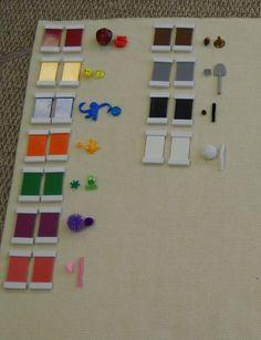 Color Matching variation (Trillium Montessori)