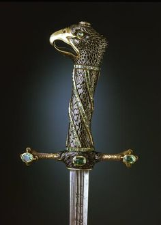 Eagle Sword with scabbard ca.1688, Revised in Dresden 1733 (?). Solingen blade. First Half of the 17th Century.