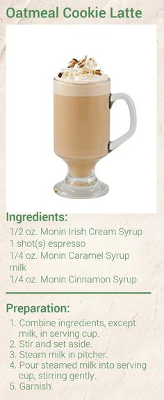 Create this delicious Baklava Latte in minutes using Monin Gourmet Syrup. Add a splash of Monin to coffee, cocktails, teas, lemonades and more. Ninja Coffee Bar Recipes, Coffee Drink Recipes, Drinks Alcohol Recipes, Coffee Drinks, Sugar Free Vanilla Syrup, Coconut Syrup, White Chocolate Syrup, Hot Chocolate