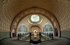 Abandoned Art Deco Dancehall, France