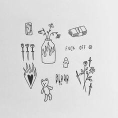 Cute Tiny Tattoos, Dainty Tattoos, Little Tattoos, Mini Tattoos, Body Art Tattoos, Small Tattoos, Retro Tattoos, Tatoos, Rebellen Tattoo