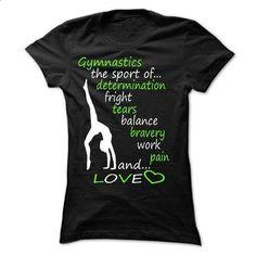 gymnastics...and love shirt - ah  - #sleeveless hoodie #cool shirt. BUY NOW => https://www.sunfrog.com/Movies/gymnasticsand-love-shirt--ah-.html?id=60505