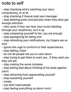 Don't agree with all of these but most of these are a good reminder