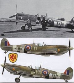 Pierre clostermann Spitfire MK IX June 1944