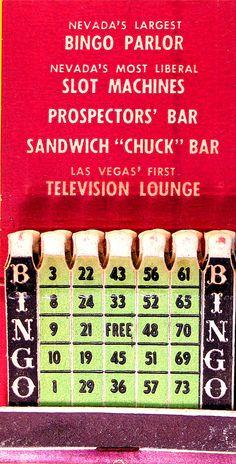 Las Vegas bingo parlor feature matches