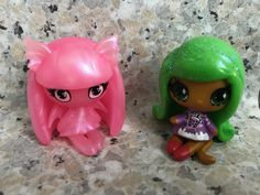 New minis! Ghostly Rochelle 😘 and Candy Jinafire