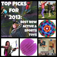 My top 12 pics for the best new active and sports toys at the American International Toy Fair. Bicycle Party, Best Kids Toys, Sports Toys, Top Toys, Gifts For Boys, American, Good News, Cute Kids, Kids Outfits