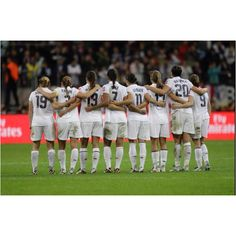 USA Women's Soccer...one day there will be a #5 on this field and I will be so proud