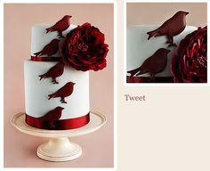 Stunning for Red Velvet! Fantastic Cake designer in Cape Town: #Roxanne Floquet