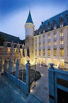 Hotel Dukes' Palace, Bruges, Belgium