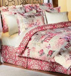 Paris Microfiber Bed Set