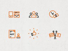 Bold outlined icons 2 by Alexander Lovyagin