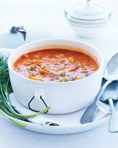 I imagine eating this in front of the fire mmmmmm I might just have to make a soup board!! (Sweet Paul's Winter Minestrone Soup)