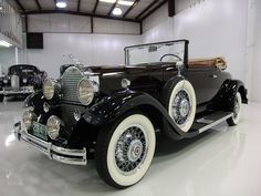 1931 PACKARD 833 STANDARD SERIES CONVERTIBLE COUPE, PRESTINE FULLY RESTORED!