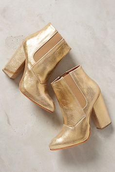 Rachel Comey gold boots