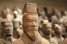 Terracotta Army Soldier Sculptures
