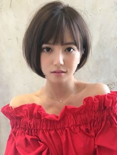 【RUVUA】山田信夫 大人かわいい 小顔ナチュラルショートボブ!