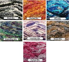 1 yarn skein. Choose your color from mixed or solid by JeAdore