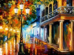 Night Transformation — PALETTE KNIFE Cityscape Modern Art Deco Oil Painting On Canvas By Leonid Afre Artist Painting, Oil Painting On Canvas, Canvas Art Prints, Tardis Art, Modern Art Deco, Painting Wallpaper, Oil Painting Reproductions, Impressionist Art, Leonid Afremov Paintings