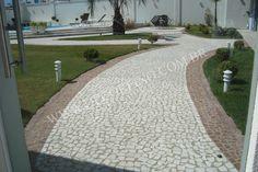 Petit Pavê Branco / Mosaico Português Branco