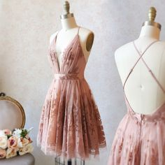 A Line Deep V Neck Pink Homecoming Dress With Lace - fashion pink short homecoming dresses formal short dresses for teens cheap a line hocodresses dressywomen pink lace backtoschool Source by fly freeTM - Hoco Dresses, Dance Dresses, Pretty Dresses, Beautiful Dresses, Sexy Dresses, Summer Dresses, Wedding Dresses, Short Homecoming Dresses, Short Formal Dresses