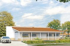 Projekt G2-4.12a Bungalow House Plans, Bungalow House Design, Country Modern Home, Facade House, Home Design Plans, Wood Construction, Planer, Mansions, House Styles