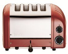 DUALIT Classic 4-Slice Toaster Red  $279.95 LOWEST PRICE GUARANTEE***PICK UP OR CULINART MARKET WILL SHIP TOTALLY FREE CULINART MARKET www.shopculinart.com