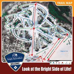 the terrain park was especially fun! Utah Ski Resorts, Wolf Creek, Bright Side Of Life, Mountain Trails, Trail Maps, Skiing, City Photo, Xmas, Park
