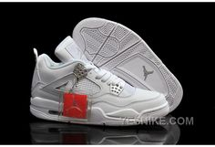 http://www.yesnike.com/big-discount-66-off-cheap-air-jordan-4-girls-all-white-metallic-silver-for-sale-womens.html BIG DISCOUNT! 66% OFF! CHEAP AIR JORDAN 4 GIRLS ALL WHITE/METALLIC SILVER FOR SALE WOMENS Only $91.00 , Free Shipping!