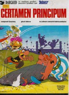 Certamen Principum - Latin Language Comic Book