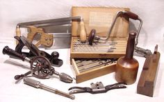 Antique woodworking tools - PHOTO!