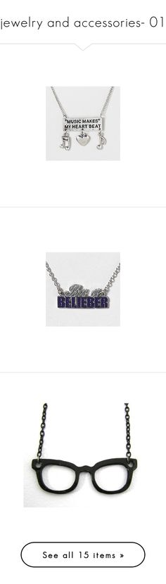 """""""jewelry and accessories- 01"""" by ridiculousrian ❤ liked on Polyvore featuring jewelry, necklaces, accessories, claires necklace, claires jewelry, justin bieber, bieber, bracelets, rings and jewels"""