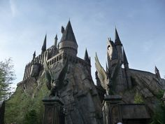 The Wizarding World of Harry Potter in Islands of Adventure, Orlando, Florida, USA