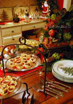 Make-ahead recipes and inspiration for your holiday entertaining or Christmas party | homeiswheretheboatis.net