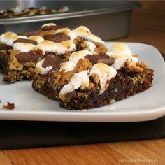 S'mores Brownies | alidaskitchen.com