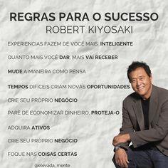 """Robert Kiyosaki é empresário, investidor e escritor. Conhecido principalmente pelo livro """"Pai Rico, Pai Pobre"""". #elevadamente #vencedor #motivacao #sucesso #mindset #mentalidade #inspiracao #empreendedorismo #negocios  #dinheiro #pensepositivo #mentalidadeempreendedora #foradacaixa #regrasparaosucesso #mindsetmilionario #mindsetdesucesso #mentalidademilionaria #primeiromilhao #coach #coaching Robert Kiyosaki, Quotes Dream, Life Quotes Love, Tony Robbins, English Quotes, Better Life, Personal Development, Mindset, Digital Marketing"""