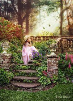 A secret garden...we mother's need to build this for our daughters and it will be passed on!