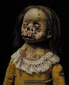 Horror Sculpture by Shain Erin | The Theatre of Terror