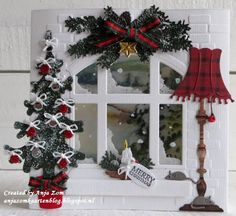 Anja Zom kaartenblog: Het nieuwe raam!!!