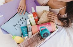 Get a box of the best, full-size beauty, wellness, fashion, and fitness products 4x per year - a curated, seasonal surprise of over $225 in fab finds for $49.99. Save an extra $5 and get FREE shipping with code NEW5