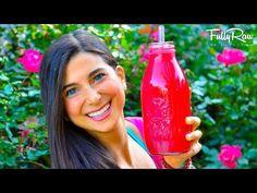 Antioxidant Rich Powerhouse Protein Blueberry Smoothie! (Yup...it's FULLYRAW VEGAN) - YouTube