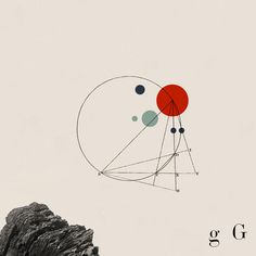 G. Geometry. Personal illustration, part of Series Alphabet. | Cristiana Couceiro