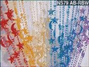 Multi color moon and star Hanging Door Beads, Moon, Curtains, Shower, Star, Prints, The Moon, Rain Shower Heads, Blinds