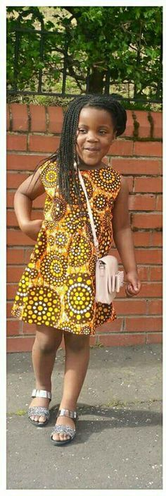 African Print Kid's Fashion