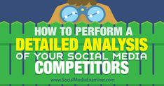 perform a detailed competitor analysis